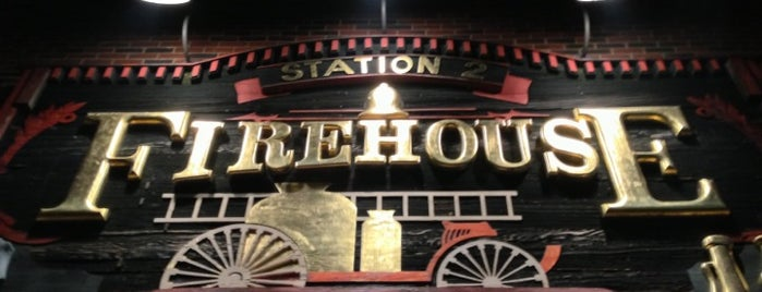 Fire House Grill is one of Official Blackhawks Bars.
