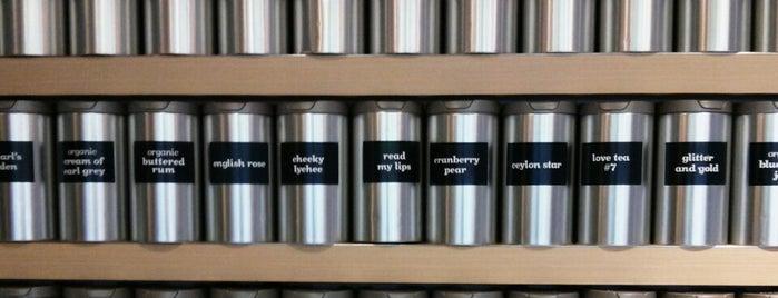 DAVIDsTEA is one of Foursquare Flatiron - Coffee.
