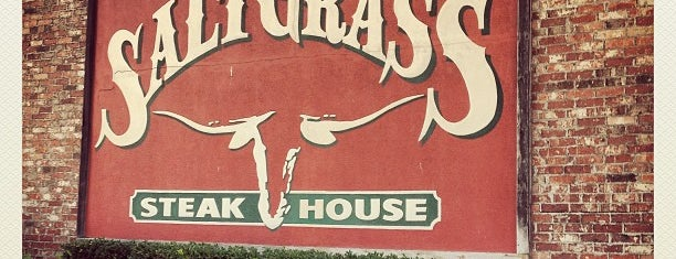 Saltgrass Steak House is one of Place to eat.