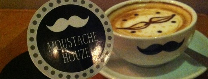 Moustache Houze is one of Coffee@Venture ^.^v.