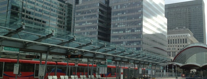 West India Quay DLR Station is one of Rail stations.