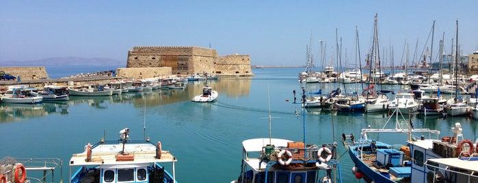 Heraklion is one of Cruising Thru Crete.