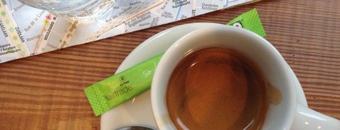 BOOM - Le Café du Commerce Équitable is one of bxl.
