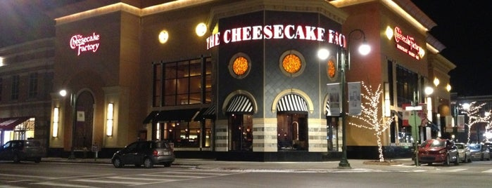 The Cheesecake Factory is one of Top Notch Food in DYT.