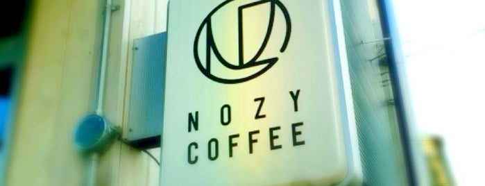 NOZY COFFEE is one of Tokyo's Best Coffee - 2013.