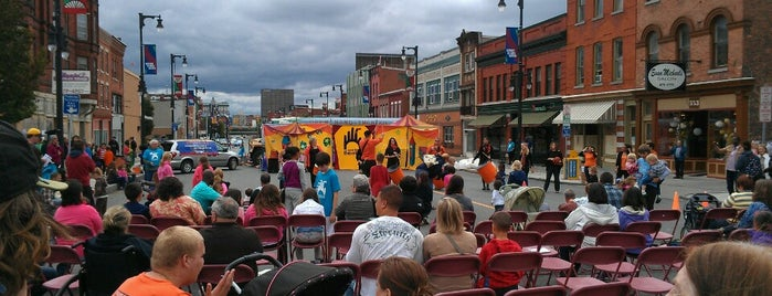 Open Hand Theatre is one of Syracuse's Northside Guide.