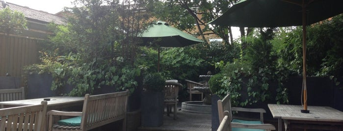 The Avalon is one of London's Best Beer Gardens.