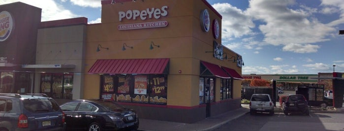 Popeye's is one of Halal Dining.