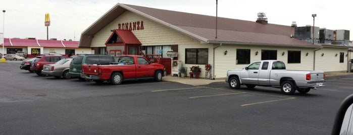 Bonanza Steakhouse is one of Lincoln 1.