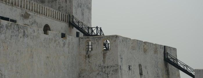 Elmina Castle is one of UNESCO World Heritage Sites.