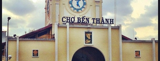 Ben Thanh Market is one of Ho Chi Minh City to-do.