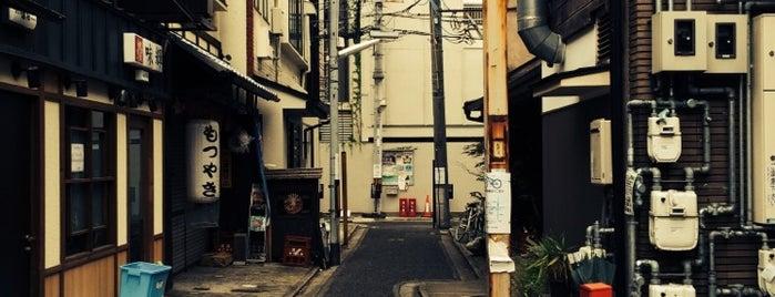 撞木辻子(観音堂東辻子) is one of 京都.