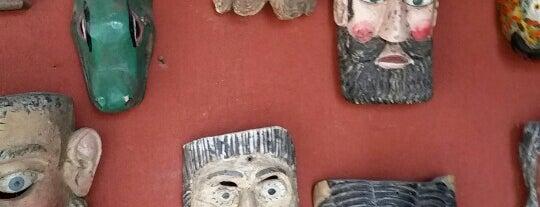 el museo de las máscaras is one of SMA + GTO.