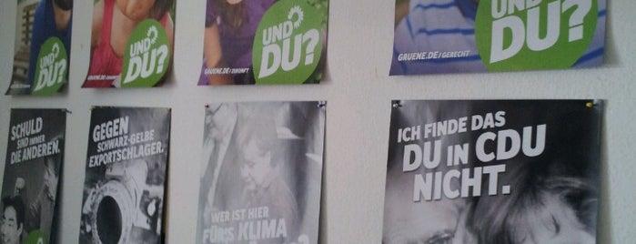 Kreisgeschäftsstelle Bündnis 90 / Die Grünen Pinneberg is one of GRÜNE Liste.