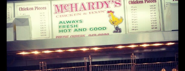 McHardy's is one of New Orleans.