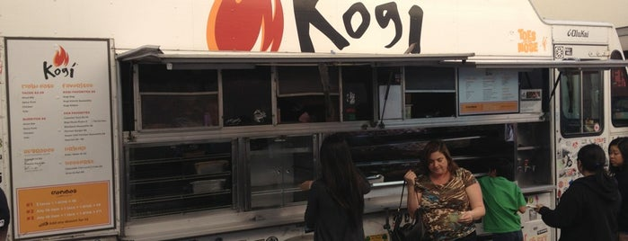Kogi BBQ Truck is one of West Coast.