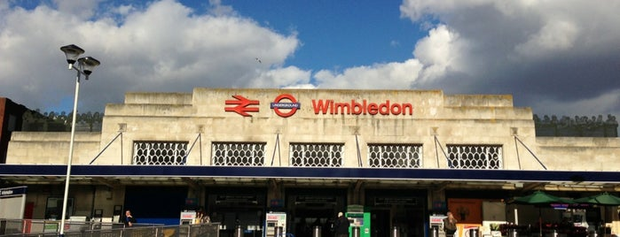 Wimbledon Railway Station (WIM) is one of Railway stations I've been to.