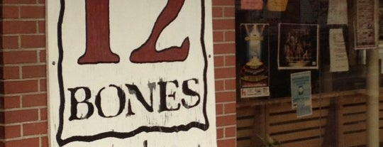 12 Bones Smokehouse is one of BBQ Joints.