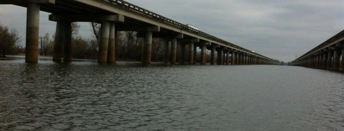 Atchafalaya Basin Bridge is one of NOLA.