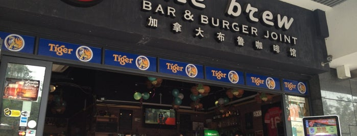 The Brew Zhujiang is one of Restaurants in Guangzhou.