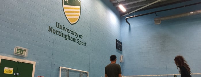 Jubilee Sports Centre is one of Nottingham of University-Places you should visit.