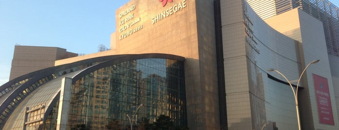 SHINSEGAE Department Store is one of 세번째, part.1.