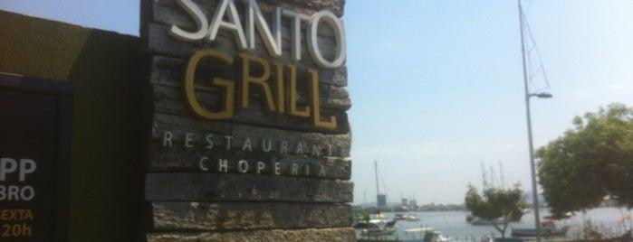 Santo Grill Restaurante is one of Itajaí.