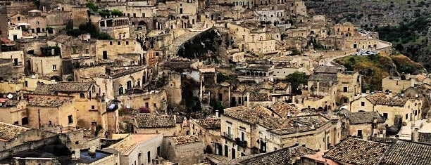 Sassi di Matera is one of South Italy.
