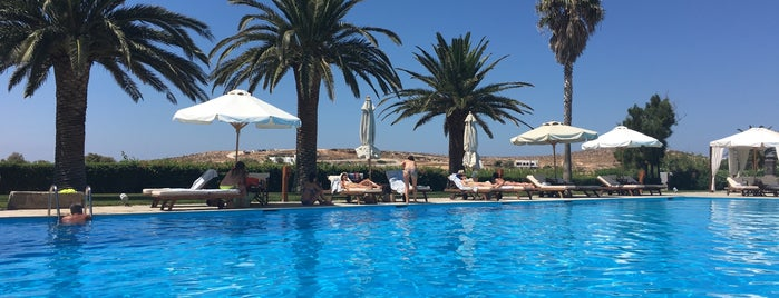 Yria Hotel Resort is one of Paros Top.