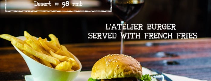 L'Atelier is one of Shanghai.
