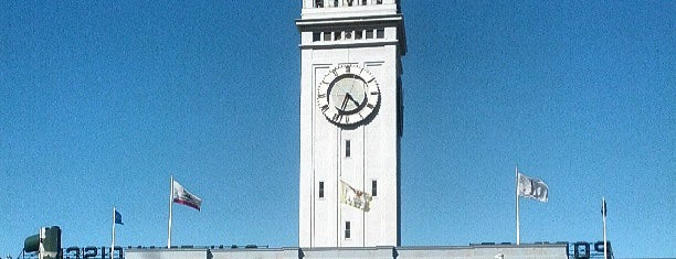 Ferry Building is one of Caffeinate Here.