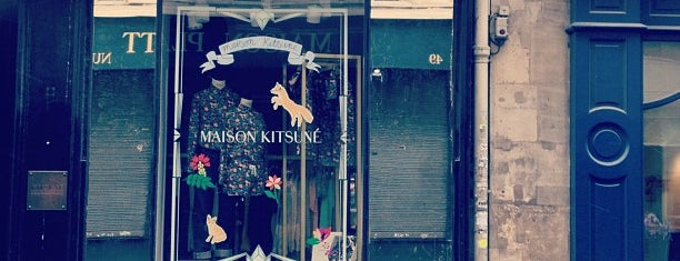 Maison Kitsuné is one of paris buy.