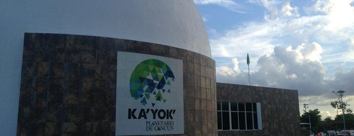 KA'YOK' Planetario is one of Mexico // Cancun.