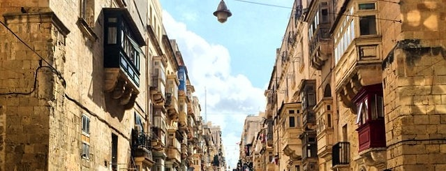 Valletta is one of World Capitals.