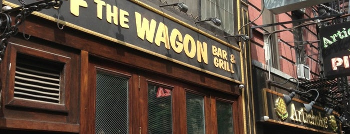 Off The Wagon Bar & Grill is one of 200+ Bars to Visit in New York City.