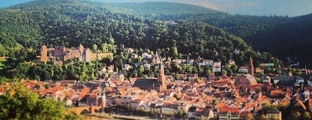 Philosophenweg is one of Heidelberg/ Germany.