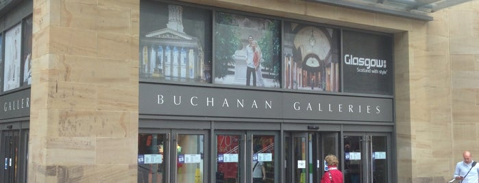 Buchanan Galleries is one of Glasgow I was there.