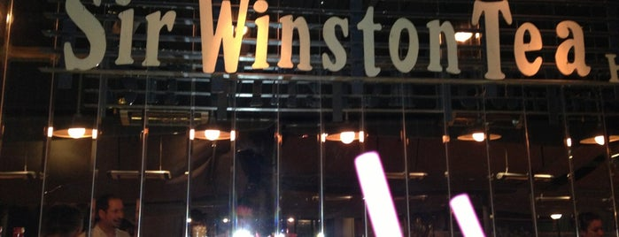 Sir Winston Tea House is one of Cafelerin.