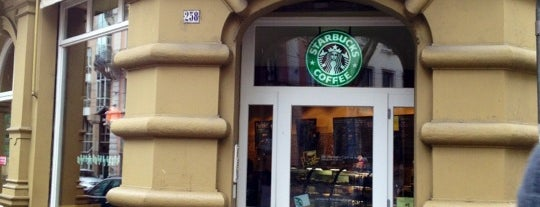 Starbucks is one of Freiburg.