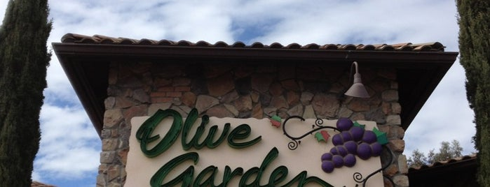 Olive Garden is one of 20 favorite restaurants.