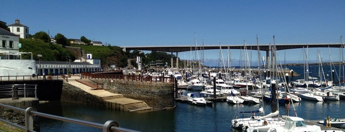 Ribadeo is one of Galicia: Lugo.