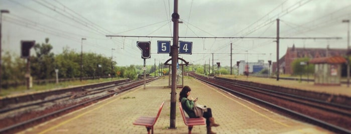 Station Mechelen-Nekkerspoel is one of Bijna alle treinstations in Vlaanderen.