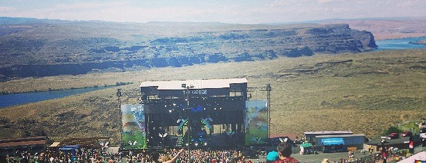 The Gorge Amphitheatre is one of My Saved Places.