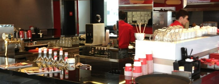 Red. Espresso Bar is one of Places for the soul.