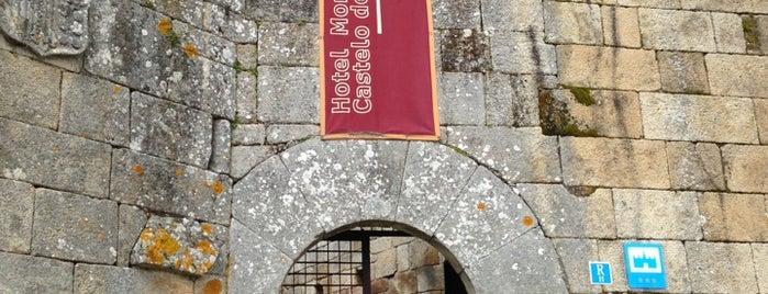 Hotel Monumento Castelo de Maceda is one of Best of Ourense ❤.