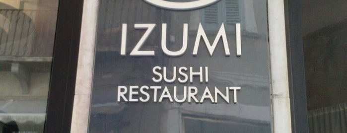 Izumi is one of Mangiare.