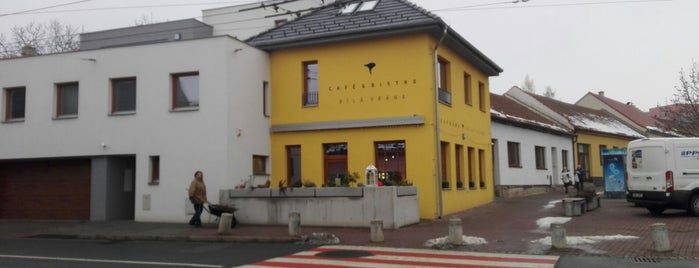 Café & Bistro Bílá Vrána is one of Cafés.