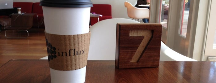 Influx Cafe is one of San diego CA 🌴.