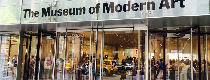Museum of Modern Art (MoMA) is one of #BabysFirstTime: NYC Edition.