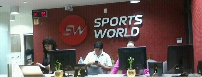 Sports World is one of Df.